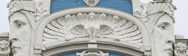 Art Nouveau Riga. Walking tour of Art Nouveau.