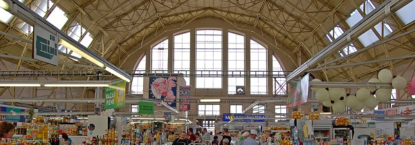 riga central market tour try!