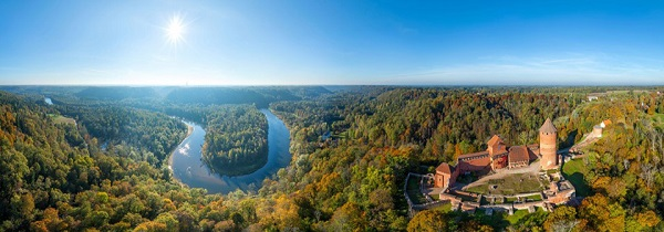 Sigulda castle day tour yearly
