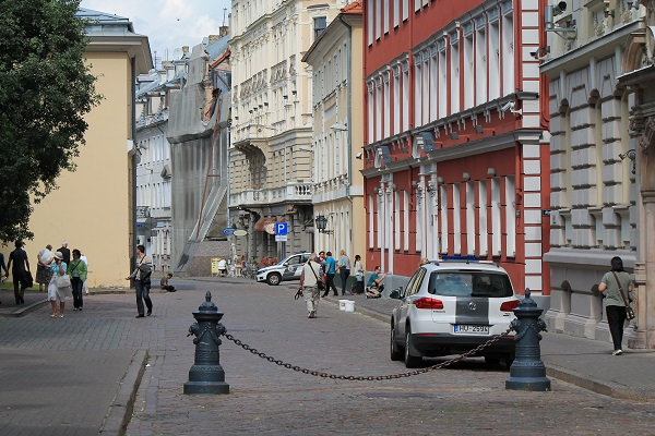 Streets of old Riga