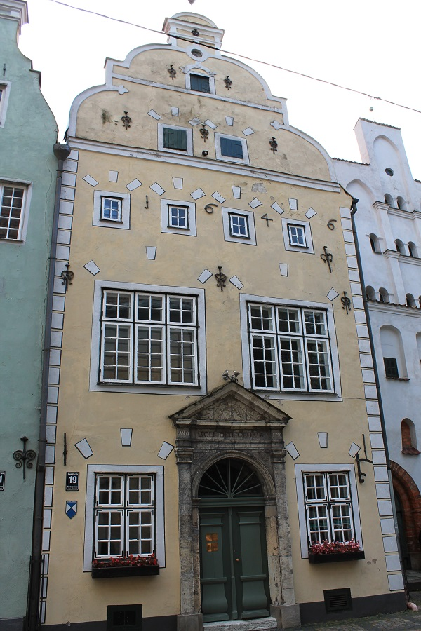 Three brothers - the oldest buildings in Riga