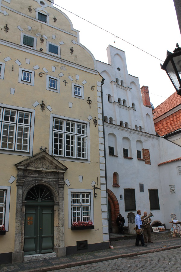 Three brothers in Riga - the oldest buildings in Riga