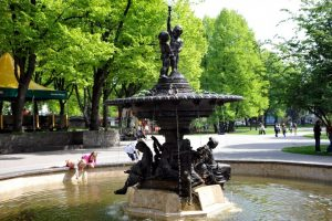 The best places to visit in Riga Verman garden