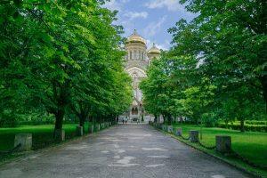 83875380 - outdoor cathedral at liepaja, latvia. 2017 karaosta
